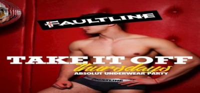 Take It Off Thursdays – Underwear Party - March 15