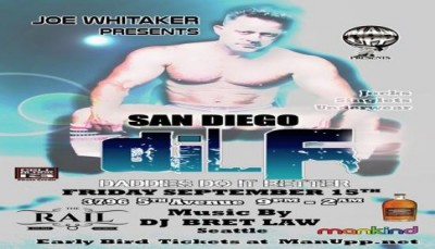 DILF San Diego Underwear/Jock Party by MAN UPP & Joe Whitaker
